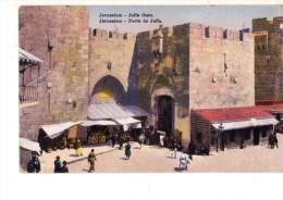 C P A------ASIE---PALESTINE-- JERUSALEM-------- Porte De Jaffa-------voir 2 Scans - Palestine