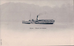 "Bateau Vapeur Du Léman ""BONIVARD"" (1927) - VD Vaud"