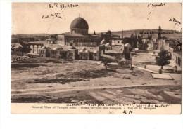 C P A---ASIE--PALESTINE---------------JERUSALEM----vue De La Mosquee---voir 2 Scans - Palestine