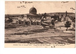 C P A---ASIE--PALESTINE---------------JERUSALEM----vue De La Mosquee---voir 2 Scans - Palästina
