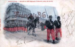 (16) - Angoulême - Bataillon Du 107 E Régiment D' Infanterie, Retour De Marche - 2 SCANS - Angouleme