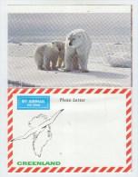 Greenland PHOTO LETTER RABBIT POLAR BEAR DEER - Orsi