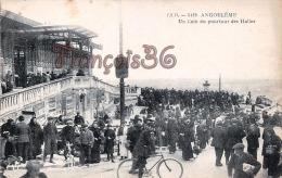 (16) - Angoulême - Un Coin Du Pourtour Des Halles - 2 SCANS - Angouleme