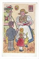 10788 -  Jos Lada 1939 Couple Enfant Devant Femme - Tchéquie
