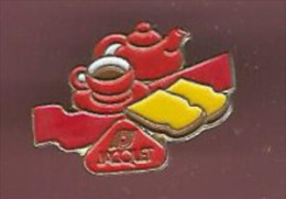 40023-Pin's...Aliments.bi Scottes Jacquet.café.. - Food