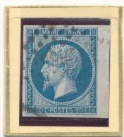 N°14 NUANCE LOSANGE PETITS CHIFFRES. - 1853-1860 Napoleon III