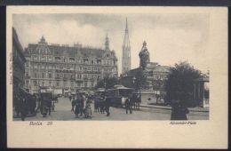 WC635 BERLIN - ALEXANDER PLATZ ( RETRO INDIVISO ) - Altri