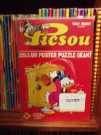 Walt Disney - PICSOU MAGAZINE N° 1 De 1972 - COMPLET (poster / Vignettes) ETAT LUXE. Voir Photos. - Picsou Magazine