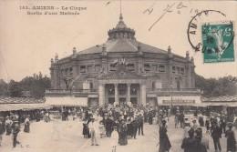 Cp , 80 , AMIENS , Le Cirque , Sortie D'une Matinée - Amiens
