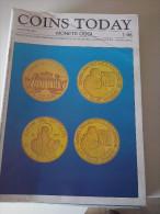 COINS TODAY - MONETE OGGI N. 1/1998 TRIMESTRALE DI INFORMAZIONE NUMISMATICA, MEDAGLISTICA, SCRIPOFILIA - Italienisch