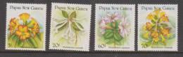 Papua New Guinea 1989 Rhododendron Flower Set 4 MNH - Papua Nuova Guinea