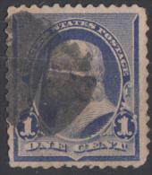 Timbre  Des   ETATS-UNIS  1890 à 93   ' '   Yvert  N° 70 ' '  1 C.  Benjamin Franklin - Used Stamps