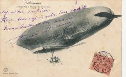 AVIATION - DIRIGEABLES - TOUL - Le Dirigeable LE LEBAUDY - Le Lâchez-tout - Airships