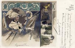 CPA  -  GRANVILLE  (50)   Nos Belles Normandes  -  Poème De L. Masson - Granville