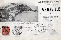Dépliant  3 Volets -  Le Monaco Du Nord -  GRANVILLE   Pittoresque Centre Balnéaire  (50)   1909 - Granville