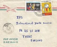 Madagascar 1987 Mahitsy ICAO Imperialism Dove Pigeon Cover - Madagaskar (1960-...)