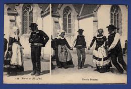 29 BEUZEC-CAP-SIZUN Mariés De Beuzec, Gavotte Bretonne - Animée 2 Vues - Beuzec-Cap-Sizun