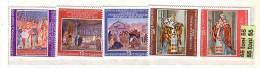 Bulgaria/Bulgarie 1979 Frescoes Rome - Basilika San Clemente 5v.-MNH - Bulgaria