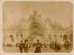 Photo Paris Exposition Universelle 1900 - Foto's