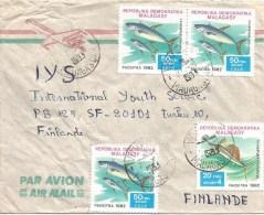 Madagascar 1983 Vohpinar Tuna Swordfish Cover - Madagaskar (1960-...)