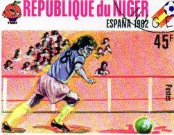 L 1982 Niger - Campionato Mondiale Spagna 82 - World Cup