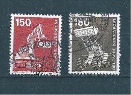 Allemagne Fédérale Timbre De 1979   N°859  Et  860  Oblitérés - Gebraucht