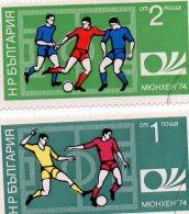 L - 1974 Bulgaria  - Campionati Mondiali Germania 74 - Coppa Del Mondo