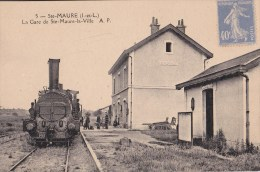 STE-MAURE/37/La Gare De Ste-Maure-la-Ville/ Réf:C2530 - Autres Communes