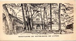 D 82 SANCTUAIRE DE NOTRE DAME DE LIVRON - Caylus