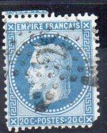 N° 29B - OBLITERATION DE PARIS -- ETOILE  26 - 1863-1870 Napoleon III With Laurels