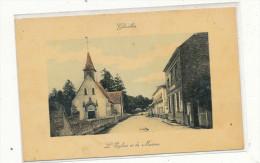 GLISOLLES  L'Eglise Et La Mairie - France