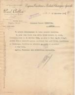 59 LILLE FACTURE 1905 Engrais Tourteaux & Produits Chimiques Agricoles Paul COLLIN - C17 - France