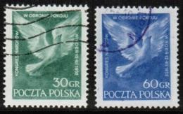 PL 1952 MI 789-90 USED - Used Stamps