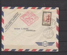 Maroc  - 1ere Liaison Aerienne Casablanca Amsterdam  - 1960 - Morocco (1956-...)