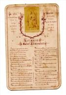IIMAGE PIEUSE LITANIES DE MATER ADMIRABILIS - Religion & Esotericism