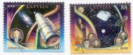 Latvia 2009 Europa  CEPT - Astronomy  - Used Stamps Full Set (o) - Lettland