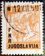 YUGOSLAVIA 1950 1d Partisans USED - 1945-1992 Socialistische Federale Republiek Joegoslavië