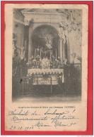 K40 56 CHAPELLE DES ENFANTS DE MARIE AUX URSULINES PLOERMEL 1901 LETTRE TAXEE - Ploërmel