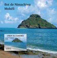 cm11201b Comores 2011 Ilot de Nimachiwa Moh�li s/s