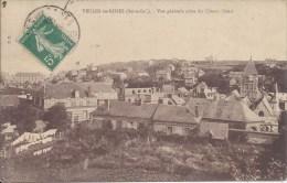 VEULES-les-ROSES (Seine-Inf.) - Vue Générale Prise Du Côteau Ouest. - Veules Les Roses