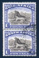 South Africa 1947. 1sh Blackish Brown And Ultramarine. SACC 119a, SG 120a. - Gebruikt