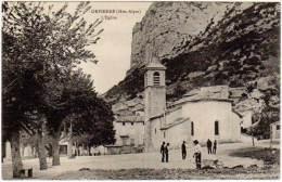 Orpierre - L'église ( E. Arthaud, éditeur) - France