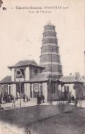 EXPOSITION COLONIALE MARSEILLE 1906  TOUR DE L'ANNAM(dil115) - Expositions