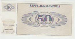 Slovenia 50 Tolar 1990 Pick 5 UNC - Slovénie
