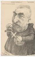 Serie 9 cp Orens Combes Loubet Fallieres Doumergue  Pelletan Mougeot  Berard  Bourgeois Marvejouls Ministres Caricatures