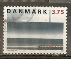 Danemark Denmark 1997 Railway Tunnel Chemin De Fer Obl - Gebruikt