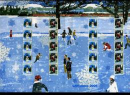 GREAT BRITAIN - 2006  CHRISTMAS GENERIC SMILERS SHEET   PERFECT CONDITION - Fogli Completi