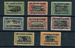 1916 Ruanda Urundi  Occupation Belge  Yvert Série N° 28 à 35  Congo Belge Surchargés  TB / TTB * - 1916-22: Neufs