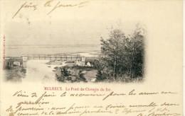 Melreux - Le Pont Du Chemin De Fer - 1905 ( Voir Verso ) - Hotton