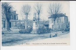 CPA VILLARS DORDOGNE MONUMENT AUX MORTS  DE LA GRANDE GUERRE ENFANTS ECOLES ED LACOTTE N°38 - France